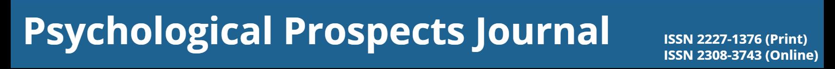 Psychological Prospects Journal